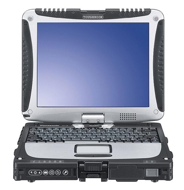 Panasonic Toughbook Cf 19 Laptop Windows 7 Pro 4 Gb 1 Tb